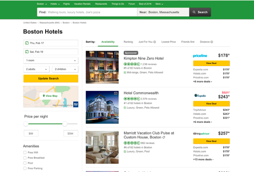 Connectivity Solutions Hotel Availability Check API